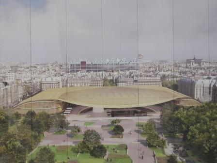 Affiche van de nieuwe Hallen