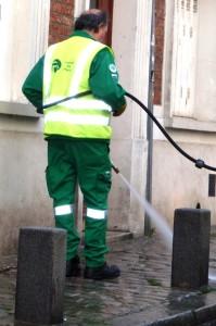 Straten schoon spuiten Paris