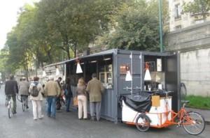 Les Berges de Seine food cabin