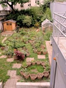 Community garden Rue Polonceau