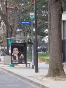 Bus stop Rosa parks